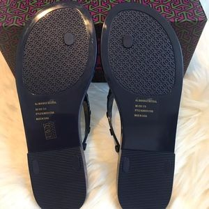 Tory Burch Shoes - NEW Tory Burch Studded Jelly FlipFlop Sz 8